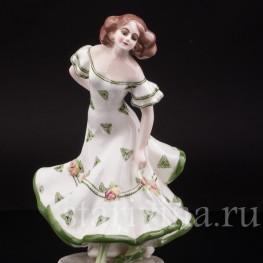 Статуэтка девушки Танцовщица, Goldscheider, Австрия, 1920-30 гг.